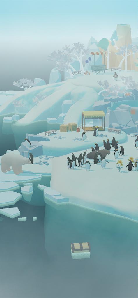 ペンギンの島わちゃわちゃ