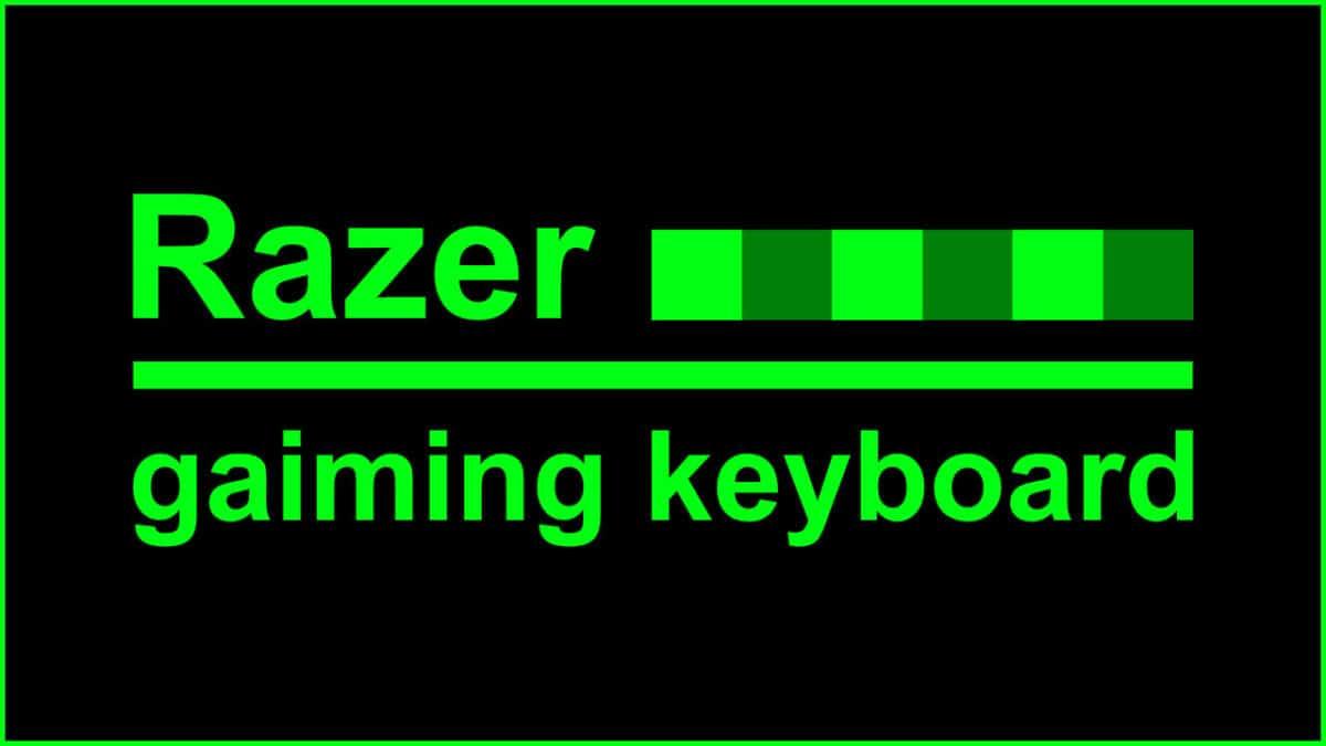 レイザーゲーミングキーボード見出し
